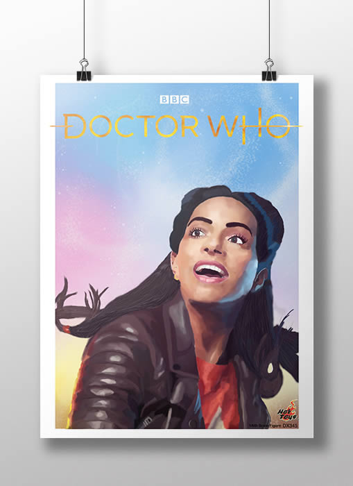 Julie Chorchos Doctor Who Digital Painting