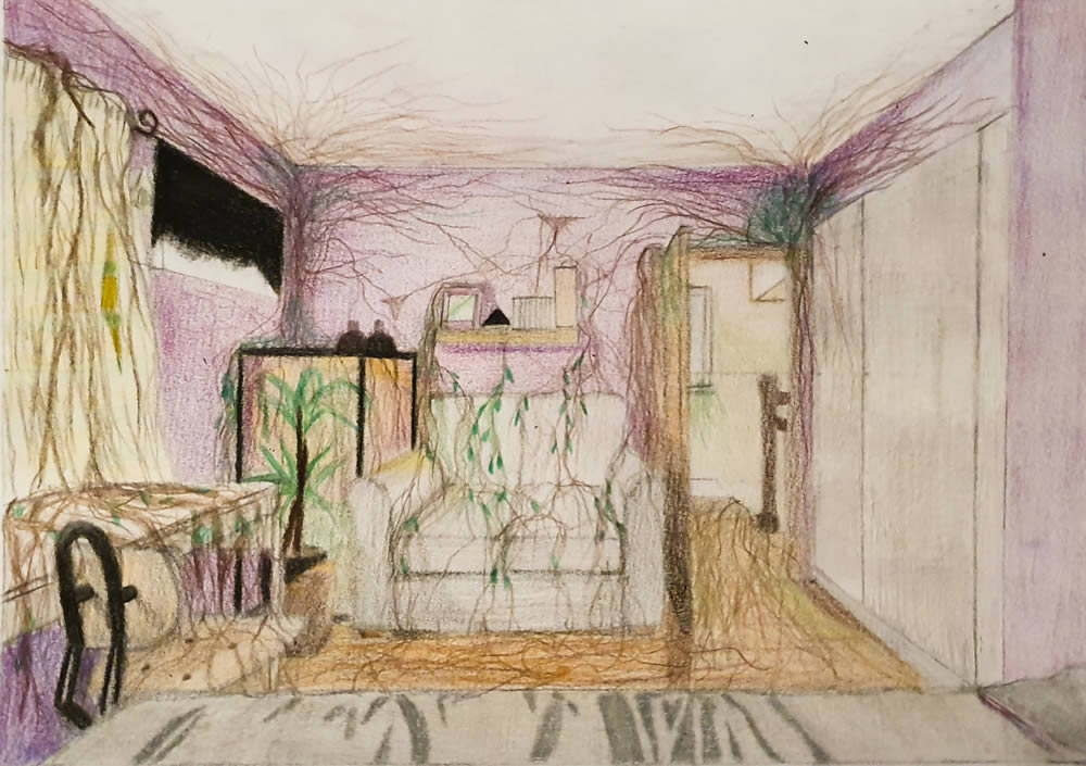 Danielle Doyle Altered space drawing